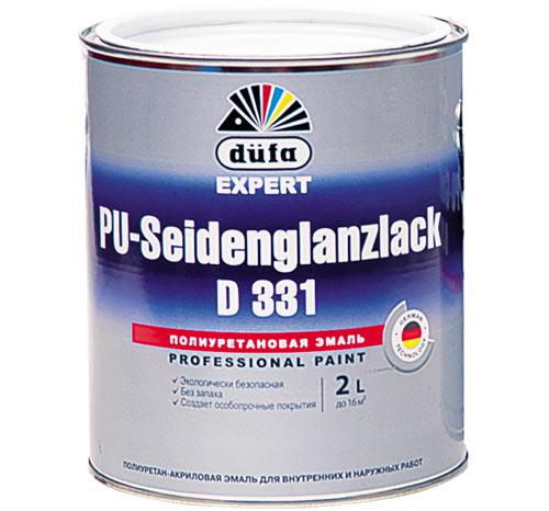 краска на основе акрила и полиуретана