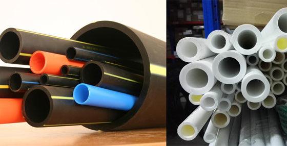 полиэтиленовые и полипропиленовые трубы
