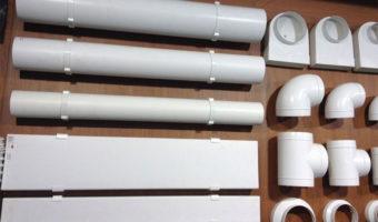 Пластиковый воздуховод