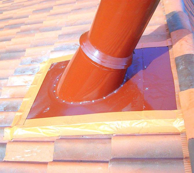 герметизация на крыше