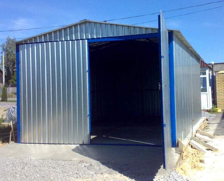 готовый гараж
