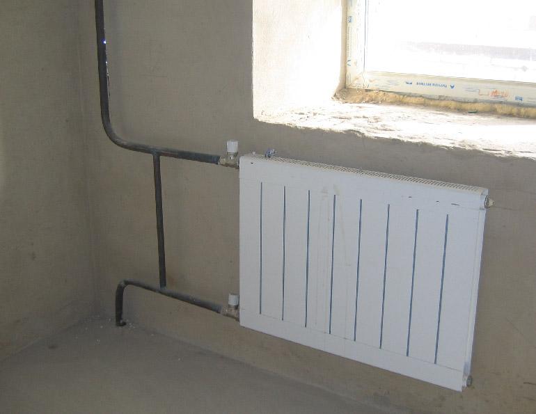 отопление с металлическими трубами