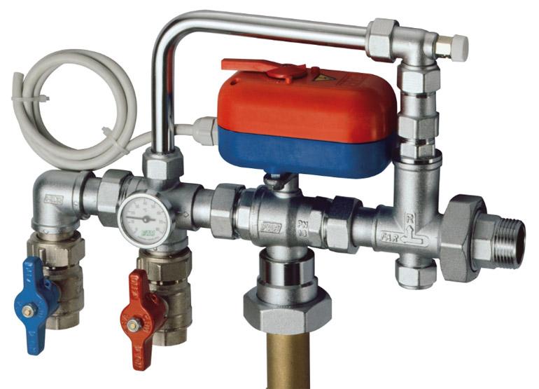 применение клапана в отопление