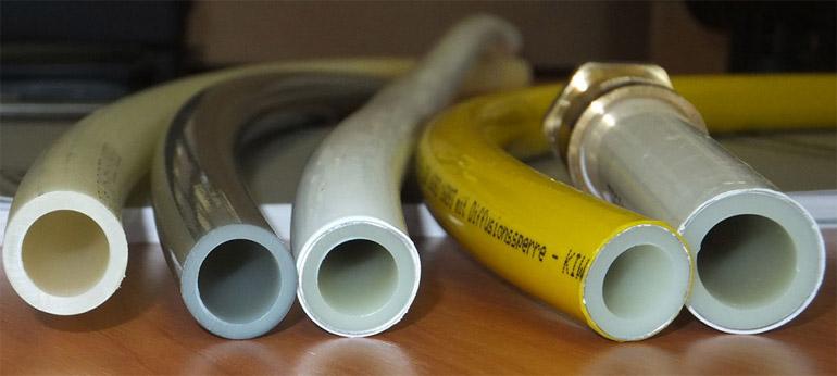 виды труб из сшитого полиэтилена