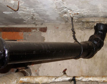 чугунная труба для канализации