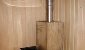 дымоход в бане