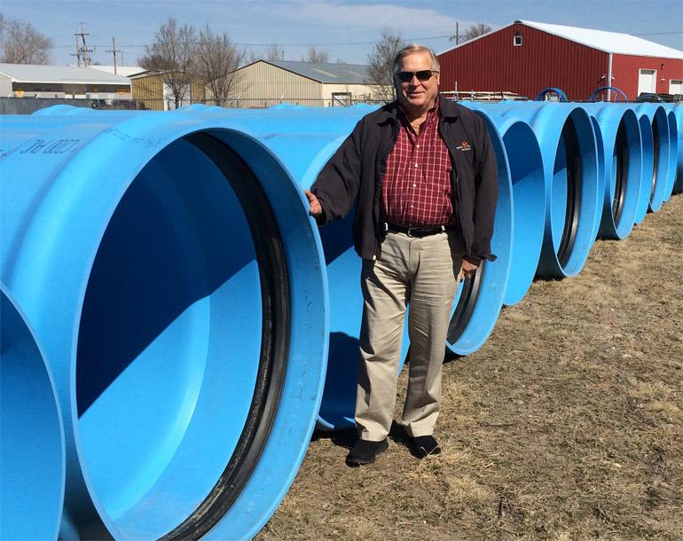 пластиковые трубы большого диаметра